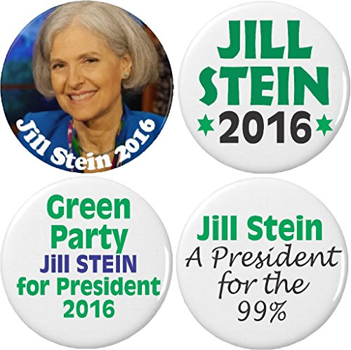 set-4-jill-stein-for-president-2016-green-party-125-pinback-buttons-pins