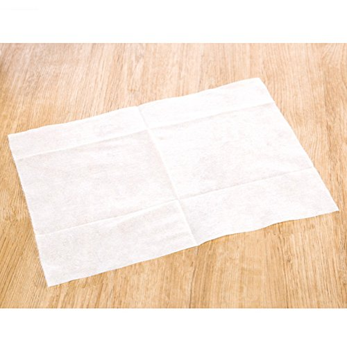 Paper Mop (ZaH 100pcs Cleaning Paper Electrostatic Paper Mop Disposable Paper Clean Dust & Hair for Floor, Window, Camera, TV, Wall & Door (Paper))