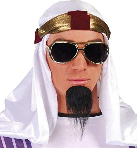 Arabian Themed Fancy Party Accessory Arab Prince Style Hat With Padded Headband (Arabian Themed Dresses)