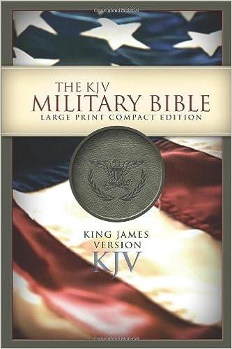 KJV Large Print Compact Military Bible: Holman Bible Staff