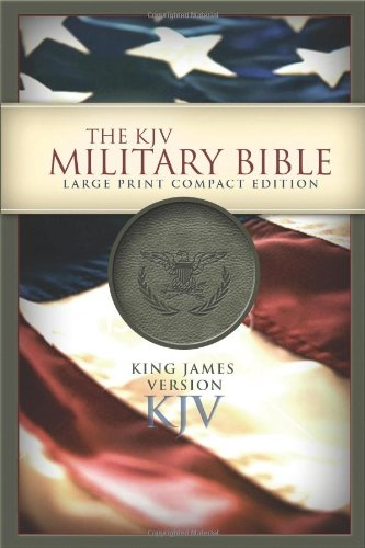 KJV Large Print Compact Military Bible