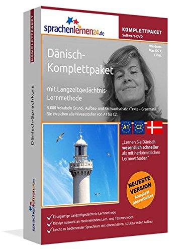 Dänisch Sprachkurs  Fließend Dänisch Lernen. Lernsoftware Komplettpaket