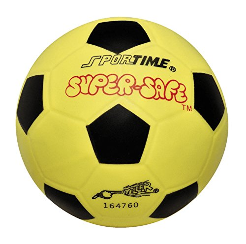 (Sportime Super-Safe Soccer Ball, 6 Inches,)
