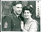 Vintage photo of Pat Phoenix as Elsie marries Paul Maxwell as Steve Tanner on 4th September, 1967.