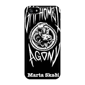 JonBradica Iphone 5/5s Protective Hard Phone Cover Unique Design Trendy Moonsorrow Band Skin [XDk10679ePvr]