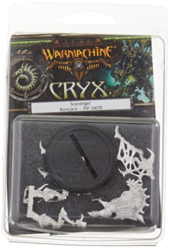Privateer Press - Warmachine - Cryx: Scavenger Light Bonejack Model Kit 3
