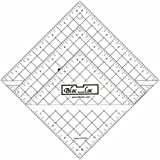 Bloc Loc~Half Square Triangle Ruler Set #2-2.5''4.5'',6.5'', Acrylic Ruler