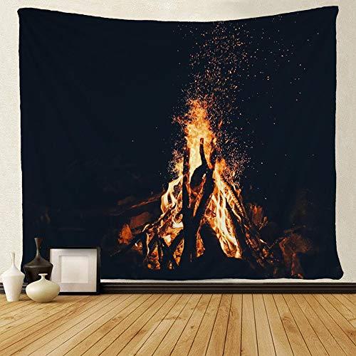 SARA NELL Wall Tapestry Bonfire Under The Night