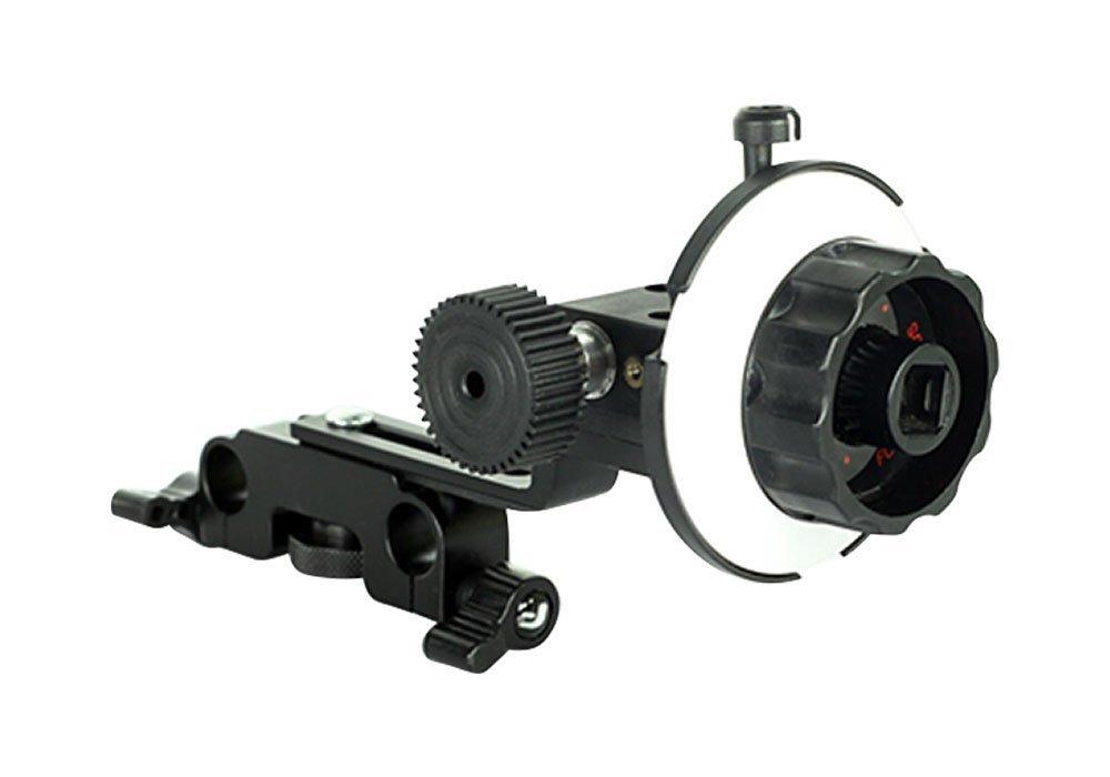 FILMCITY follow focus V1 (FC-V1-FF) for 15mm Rail Rod support Video Movie Film Camera