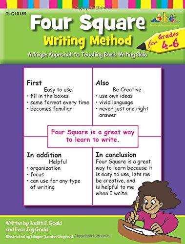 Lorenz Four Square Writing Method, Grades 4 to 6