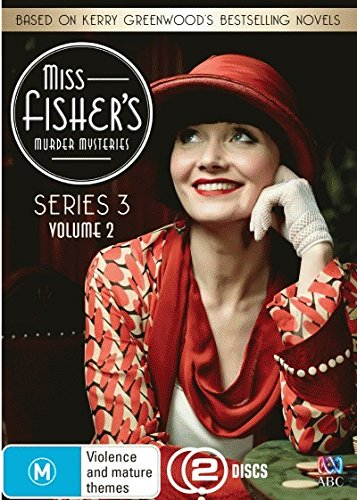 Miss Fisher's Murder Mysteries - Series 3 Volume 2 DVD (2 Discs) (Region 4, Pal, Aus Import) NON US STANDARD