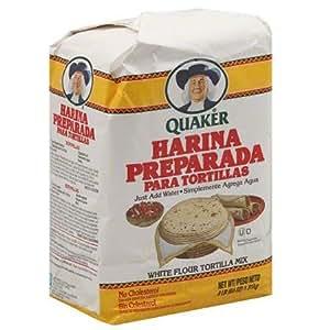Quaker Harina Preparada Para Tortillas White Flour