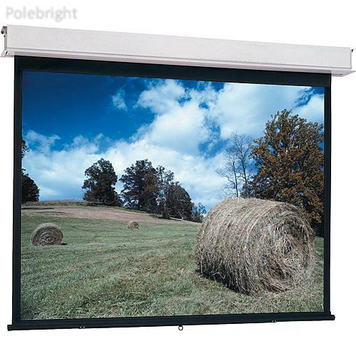 "34710 Advantage Manual Projection Screen with CSR (Controlled Screen Return) (50"" x 80"") - Polebright Updated"