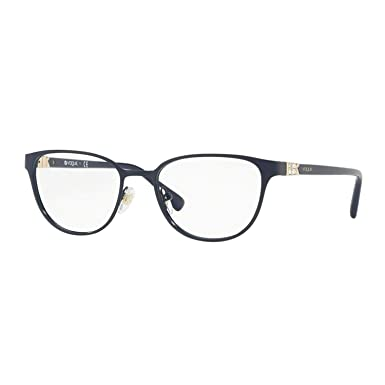 a62793332b Vogue VO4062B Eyeglass Frames 5051-52 - Blue VO4062B-5051-52 at ...