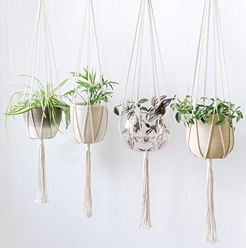 Vintage-inspired plant hangers