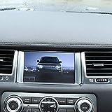ABS Matte Navigation Frame Cover Trim for Land Rover Range Rover Sport RR Sport 2010-2013