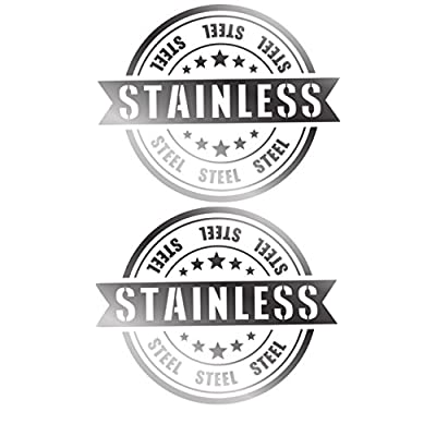 APSG License Plate Frame | Stainless Steel | Premium Slim Style | (2 Holes, Polished Mirror Finish) Set: Front + Rear: Automotive