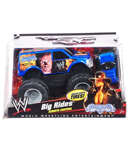 WWE The Undertaker - Hot Wheels Remote Control Truck ''Big Rides'' RC by Hot Wheels