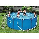Bestway-56420-Steel-Promax-Piscina-o366-X-122-cm-Telaio-in-acciaio-set-con-pompa-filtro-e-accessori-Blu