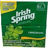 Irish Spring Deodorant Soap 20 x 113 G Total 2.26 KG, 2.26 Kilogram