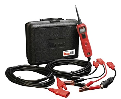 POWER PROBE III W/ Case & Acc - Red (PP319FTCRED) [Car Automotive Diagnostic Test Tool Power Up Electrical Components Digital Volt Meter ACDC Current Resistance Circuit Tester LCD Screen Flashlight Short Circuit Indicator Audible Tone] by Power Probe (Image #2)