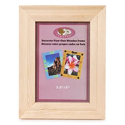 Amazon Bulk Buy Darice Diy Crafts Frame Wood Natural 35 X 5