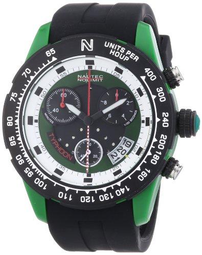 Nautec No Limit TY2 QZ/RBPCBKGR-WH - Men's Watch, plastica, Color: Black