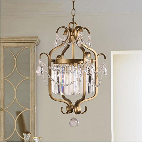 American Crossings Computer (Wei-d American Iron Crystal Chandelier Arcade Crossing Cloakroom Light K9 Crystal Lamp Modern Chandelier , as picture)