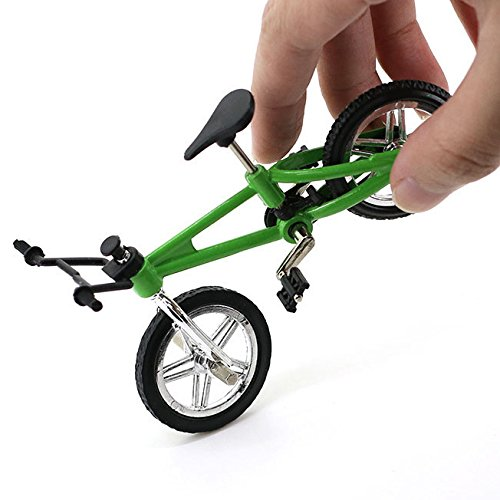 4 Pack Finger Mountain Bike Excellent Functional Miniature Metal Toys Mini Extreme Sports Finger Bicycle Cool Boy Toy Creative Game Toy Set Collections by Yexpress (Image #7)