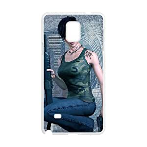 Army Of Two Samsung Galaxy Note 4 Cell Phone Case White 53Go-259879