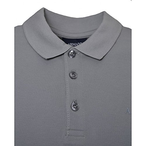Armani Jeans Men's Grey Polo Shirt