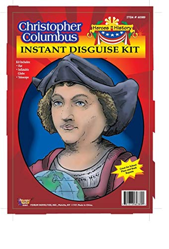 Forum Christopher Columbus Instant Disguise Kit -