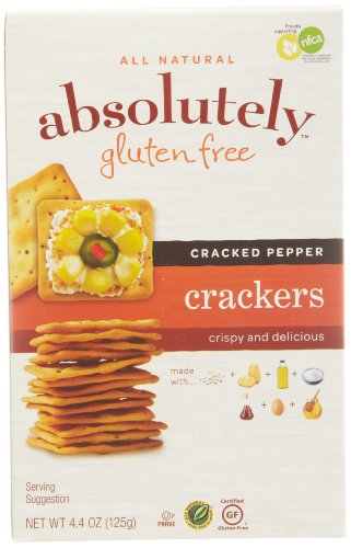 All Natural Absolutely Gluten Free Crackers
