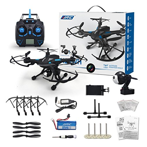Tiean JJRC H26WH RC Quadcopter 2.4G 4CH 6-Axis Gyro Headless Mode With WIFI Camera by Tiean