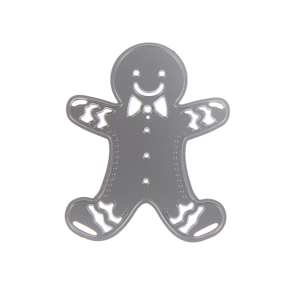 Gingerbread Man Cutting Dies