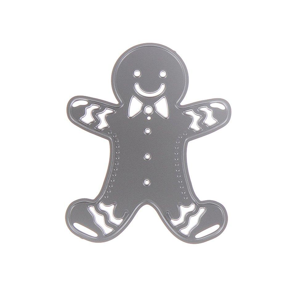 Gingerbread Man Cutting Dies
