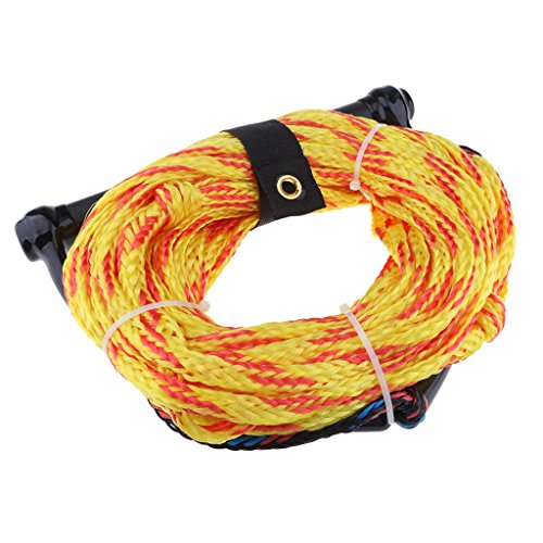 B Baosity Wakeboard Wakeskate Water Ski Rope with Handle, Watersports Euquipment Leash Knee Line Safety Surfing Acces