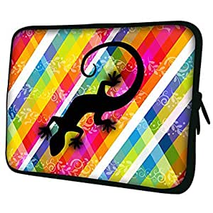 "NEW Gecko Pattern 7""/10""/13"" Laptop Sleeve Case for MacBook Air Pro/Ipad Mini/Galaxy Tab2/Sony/Google Nexus 18196 , 7 inch"