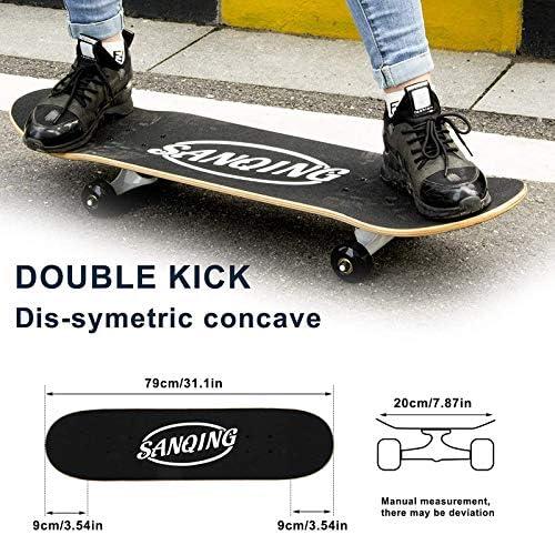 Sportausrstung & -bekleidung CUTEY Standard Tricks Skateboard ...