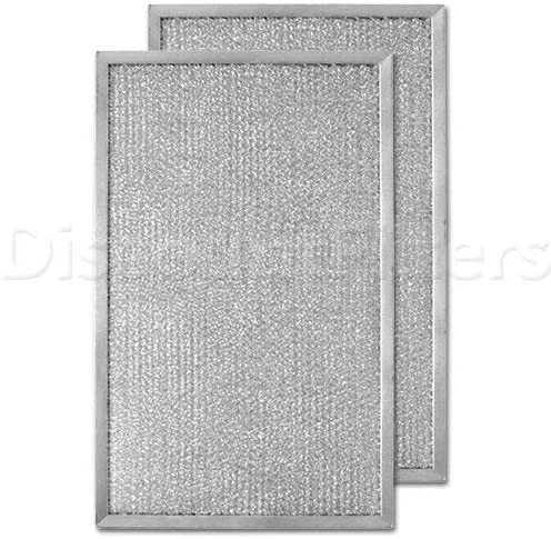 Air Filter Factory 2 Pack Compatible Replacement For Honeywell 203371 HVAC Furnace Aluminum Pre//Post Filters