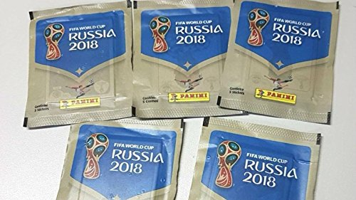 Figurinhas Fifa World Cup 2018 - Copa 2018 - lote com 10 envelopes