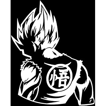 DBZ Dragon Ball Z Super Saiyan Goku Decal Vinyl Truck Car Sticker