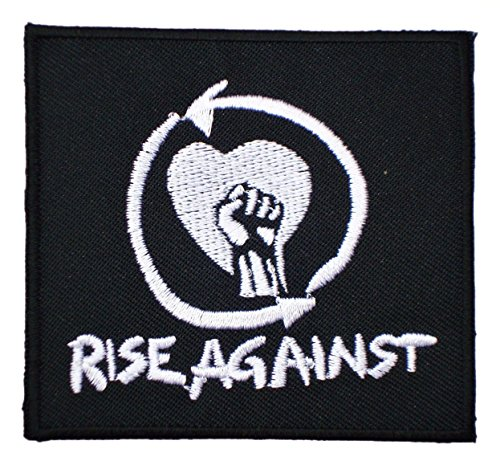 RISE AGAINST Punk Rock Band t Shirts Emblem MR31 Embroidered iron on Patches