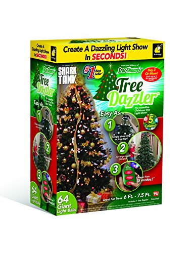 Star Shower Tree Dazzler Christmas Tree Light Show by BulbHead
