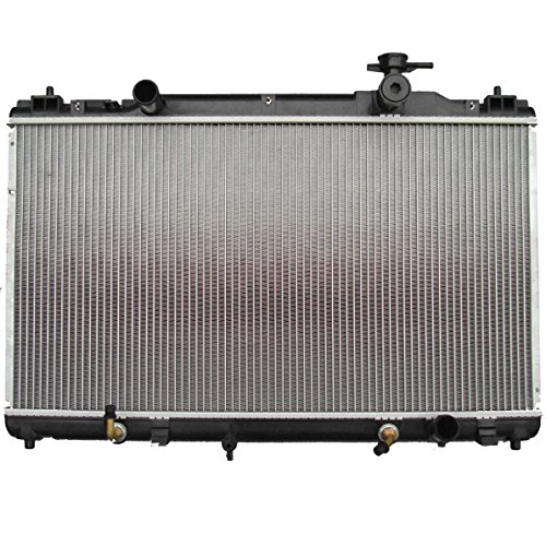 SCITOO 2436 Radiator fits for 2002-2006 Toyota Camry Base/LE/SE/XLE Sedan 4-Door 2.4L 2005-2008 Toyota Solara SE/SLE Convertible SE/SLE/Sport Coupe 2-Door 2.4L