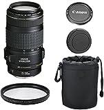 Canon EF 70-300mm f/4-5.6 IS USM Lens for Canon SLR Cameras + Deluxe Lens Case + Commander U.V. Filter + 4pc Bundle - International Version