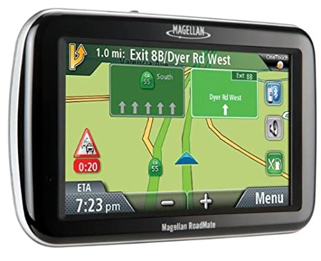 Amazon Magellan RoadMate 3065 47 Inch Widescreen Bluetooth Portable GPS Navigator With Lifetime Traffic Cell Phones Accessories