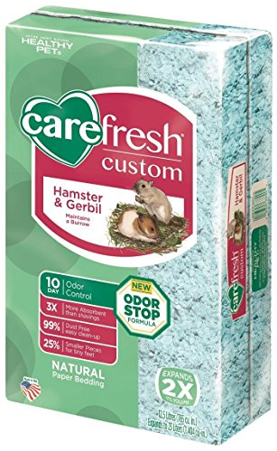 CareFresh Custom Hamster & Gerbil Bedding – Blue – 23 lt
