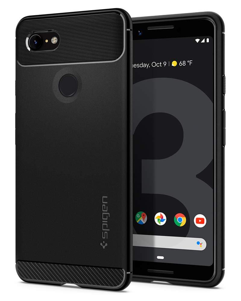 new style 6c9d5 cacce Spigen Rugged Armor Designed for Google Pixel 3 Case (2018) - Black