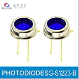 PHOTODIODE,Silicon PIN Photodiodes,450nm,350-750nm,IR Blocking Type,TO-5 Metal Can Package (20)
